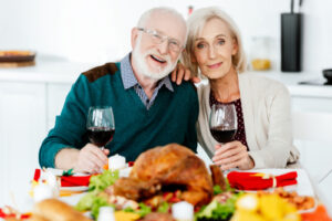 Holbrook Community_Thanksgiving Couple